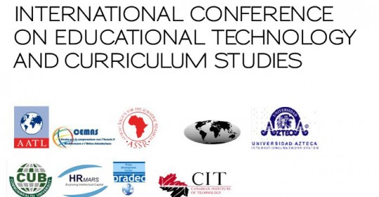 INTERNATIONAL CONFERENCE ON EDUCATIONAL TECHNOLOGY AND CURRICULUM STUDIES