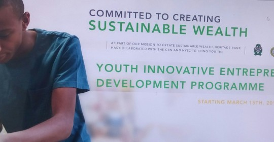 YOUTH INNOVATIVE ENTREPRENEURIAL DEVELOPMENT PROGRAMME (YIELDP)