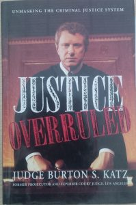 Book of the day: Justice Overruled