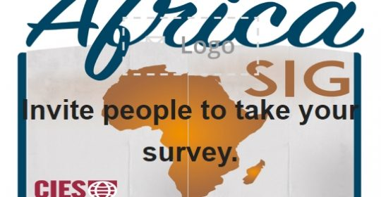 Africa SIG – CIES